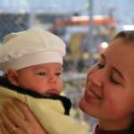 Rádióbeszélgetés babákról és mamákról