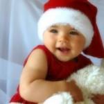 karácsonyi készülődés babával