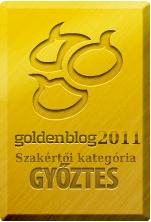 Goldenblog 2011 Szakértői díj