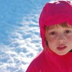 Piros arcocska nagy hidegben