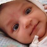 A csecsemő szeme fénye