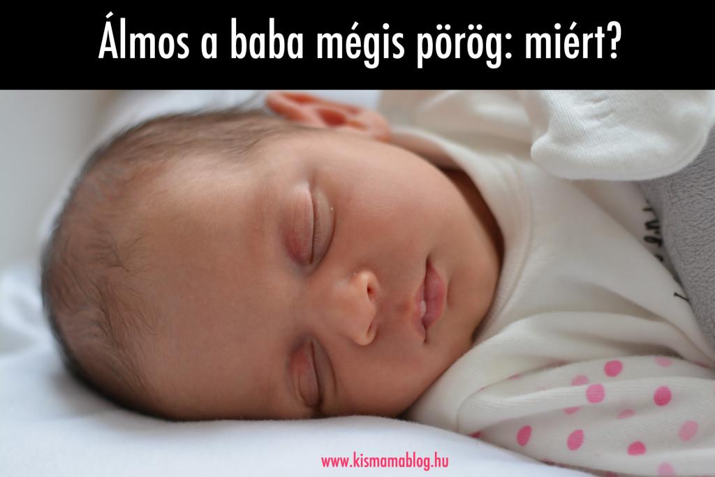Álmos a baba mégis pörög